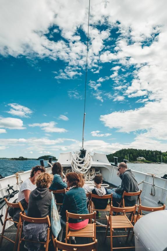 Stockholm Archipelago Ferry Seats