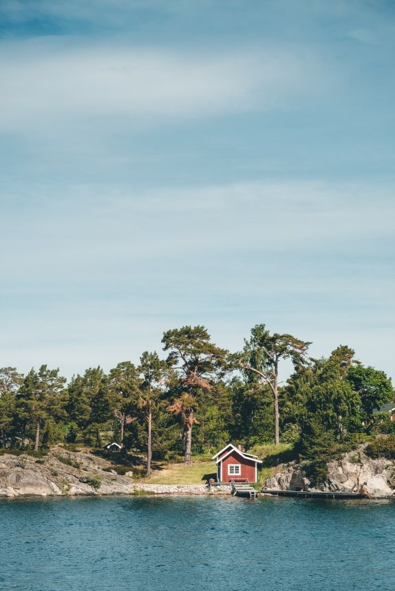 Stockholm Archipelago Island Red House