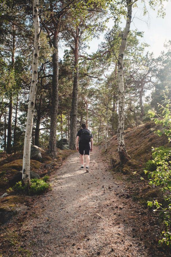 Stockholm Archipelago Sodervikan Hike Tim
