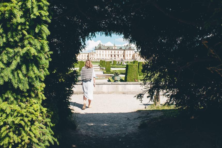 Stockholm Drottningholm Hedge Palace Maria