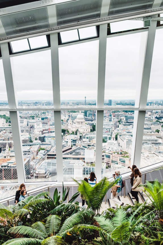 Sky Garden The Best Free Views of London And Amazing Green Garden