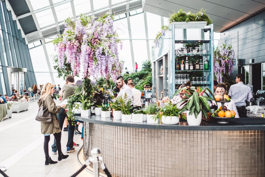 Sky Garden The Best Free Views of London and Amazing Bar
