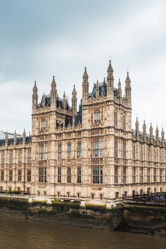 London Itinerary Palace of Westminster over the River Thames