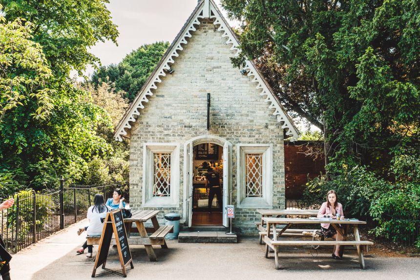 London Itinerary Regents Park Coffee Shop