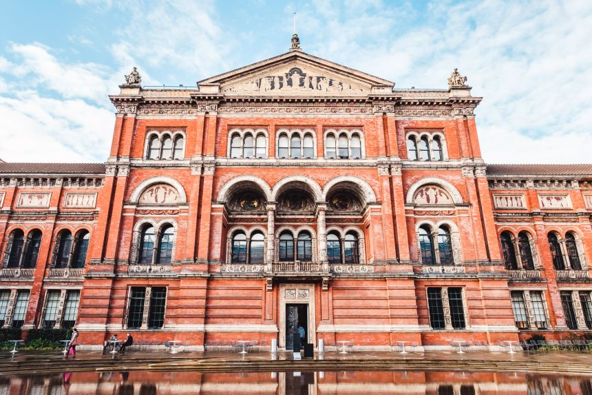 London Itinerary Victoria and Albert Museum