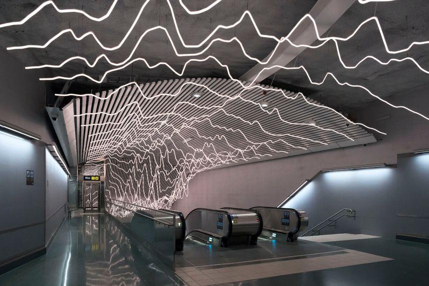 Stockholm Odenplan Metro Station Flickr Tom Bjorkstedt 36592526912