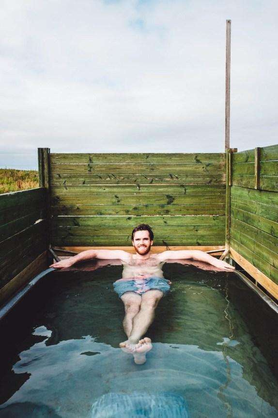 Iceland North Husavik Hotpot Relaxing Bath