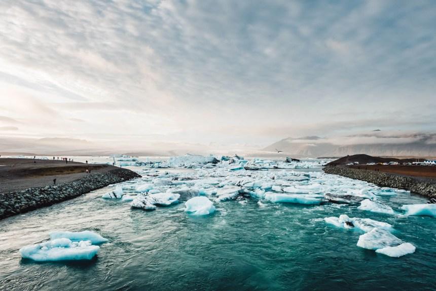 Iceland South Jokulsarlon Glacial River 2