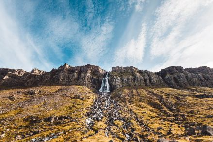 Iceland Westfjords Arneshreppur Hotpot Couple