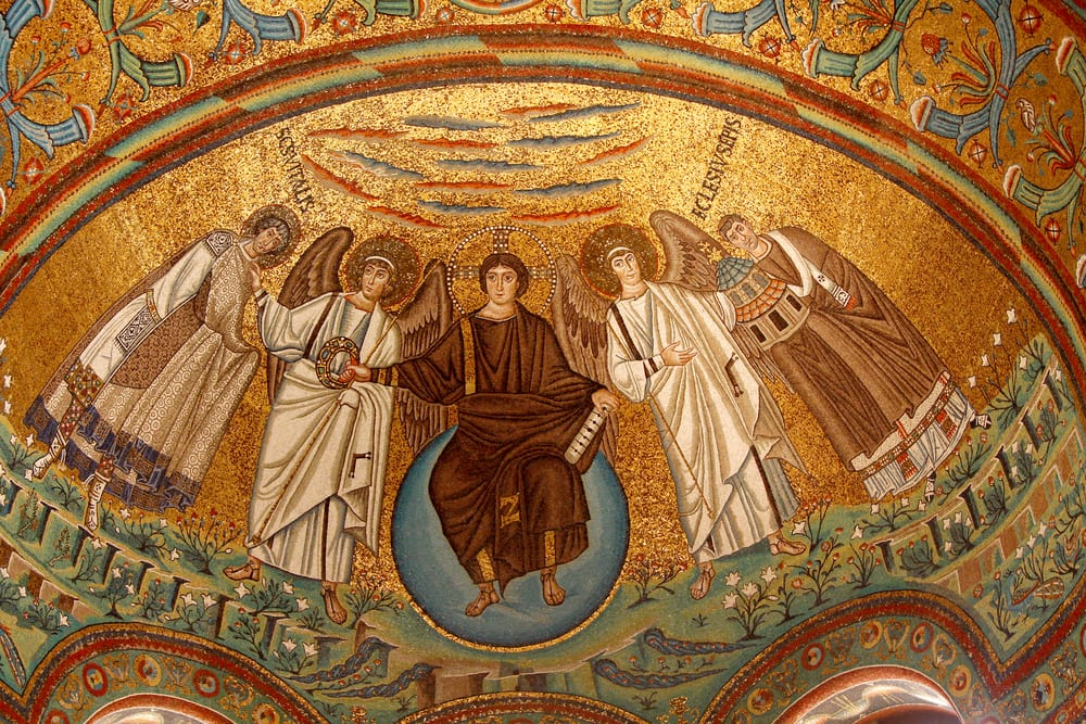 Image result for byzantine mosaic art venice