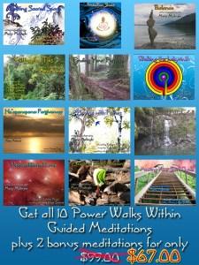 Power Walks Within Set