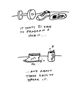 good habits are so hard