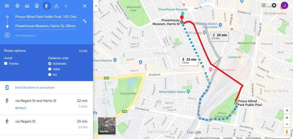 Pedestrians left at the kerb by Google Maps - JedSetter