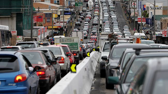 Victoria Road near Rozelle is supposed to be improved by WestConnex.