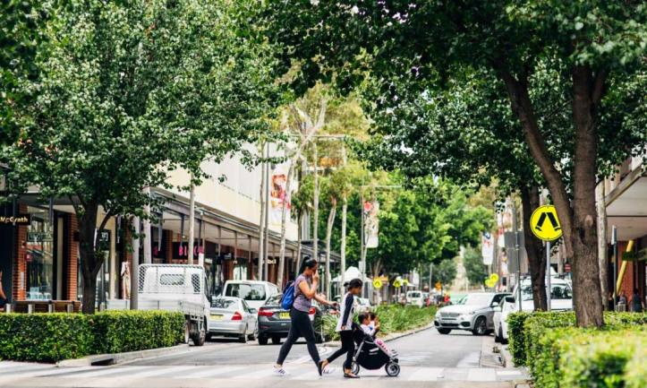 Good place-making in Rouse Hill.