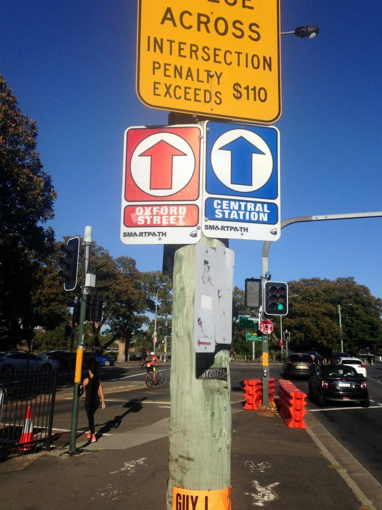 Smartpath signage