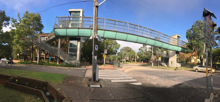 Pedestrian Bridge The Boulevarde, Strathfield