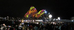 Sydney Opera House during Vivid