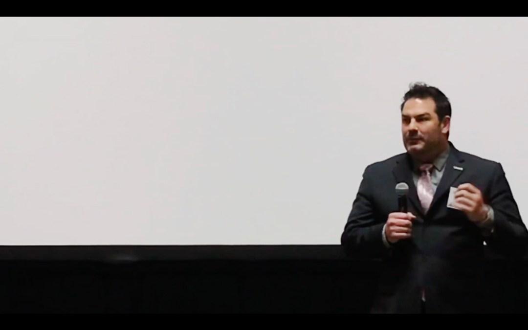 Michael Sodini speaking at Mental Health America's Regional Policy Meeting