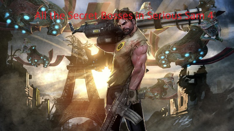 How to Find All the Secret Bosses in Serious Sam 4