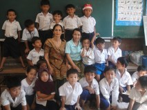 A day at school in Siem Reap, Cambodia