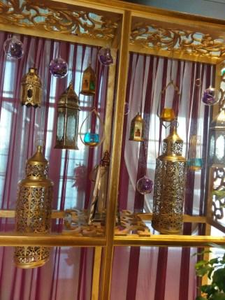 Arabic lamps decorations