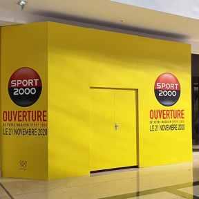 Ouverture Palissade Centre Commercial Saint Genis 2 Laval