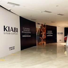 Palissade Bois Centre Commercial Oparinor Kiabi