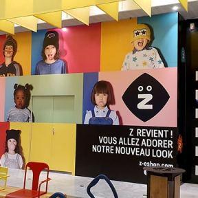 Palissade Travaux Bois Boutique Z Chantier CentreCommercial Lingostiere Nice