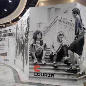 Palissade Travaux Courir Centre Commercial Rives dArcins