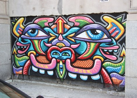Under Pressure Festival Zone 2013 - Chris Dyer's Positive Creations on 180 Ste-Catherine est