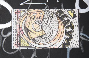 hand-drawn sticker by Meat