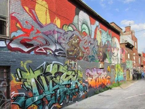 St-Laurent-Clark alley between St-Cuthbert and Bagg