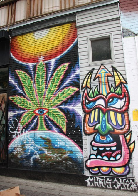 Storefront on Duluth by Chris Dyer aka Positive Creations