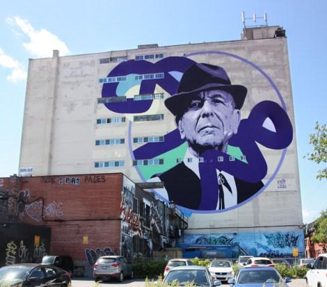 Kevin Ledo's mural for the 2017 edition of Mural Festival
