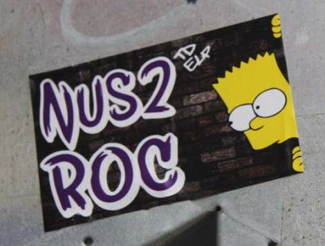 Collaboration sticker with Nustwo and ROC514