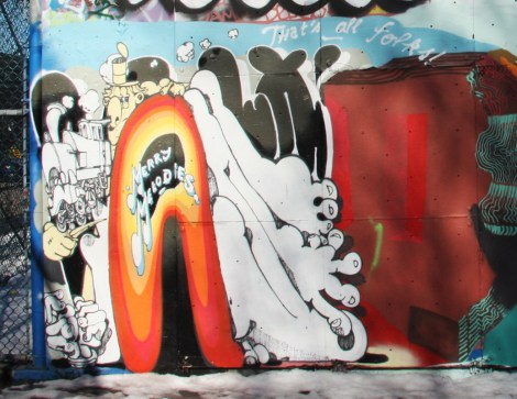 Vilx's portion of a mural on Mullins