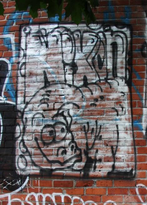 Nixon graffiti on Hotel de Ville