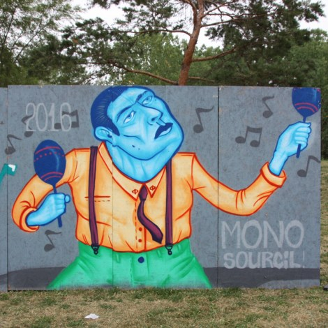 Mono Sourcil for the 2016 International Percussion Festival