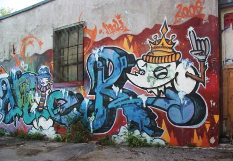 Scaner graffiti (detail) in NDG