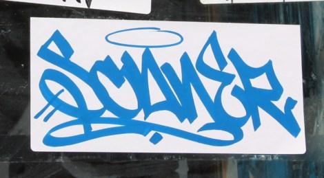 Scaner sticker tag