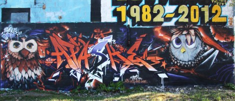 Apashe graffiti