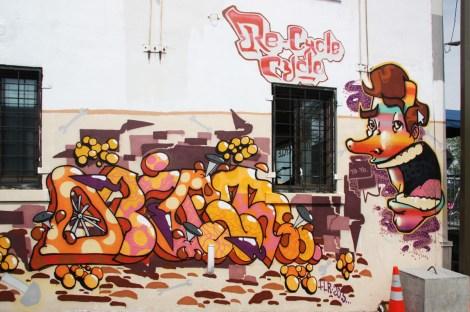 FLR graffiti in NDG