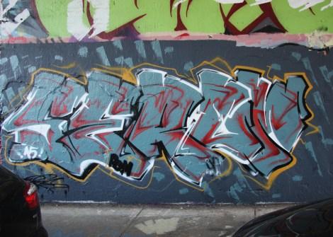 Serum at the Rouen tunnel legal graffiti spot
