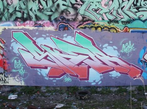 Skor graffiti