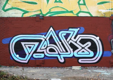 Pask's name done by Five Eight