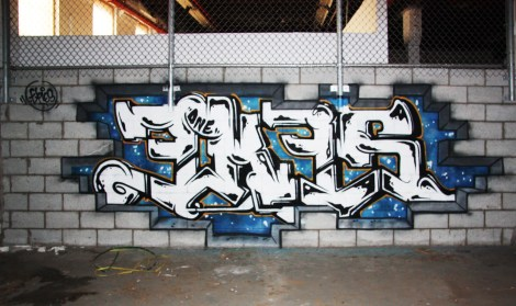 Ekes piece in the abandoned Transco