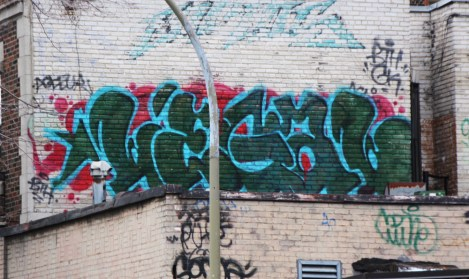 Legal piece on Plateau End rooftop