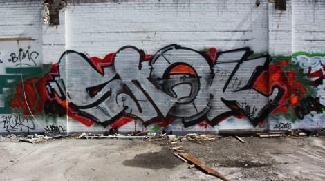 Snok inside the abandoned Transco