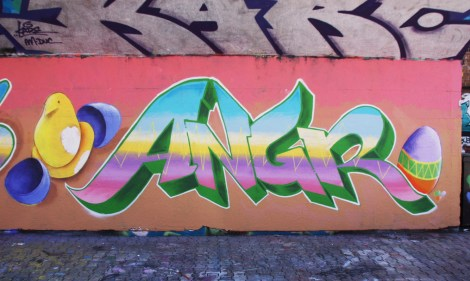Easter prod by Angr at the PSC legal graffiti wall